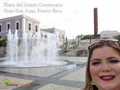 Miércoles Mudo 14: Paseando por la Plaza del Quinto Centenario en el Viejo San Juan, Puerto Rico.