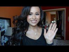 Hair tutorial: Beautiful bouncy curls!