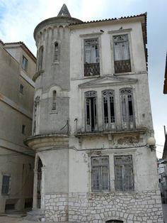 Abandoned family home, Nazaré, Portugal