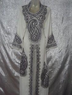 NEW 2 LAYER DUBAI ABAYA ,GALABEYA ,JILBAB ,DRESS,KAFTAN KHALEEJI .MAXI in Middle East   eBay
