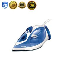 Philips GC2046 Garment Steamer Fabric Powerful Steam Iron Clothes Laundry New #Philips