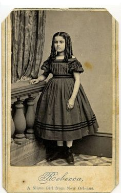 Kimball American (active Rebecca, an Emancipated Slave, from New Orleans, 1863 Photograph, Carte-de-visite Am. Antique Photos, Vintage Photographs, Old Photos, Vintage Photos, Vintage Children Photos, African Diaspora, We Are The World, African American History, Historical Photos