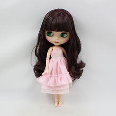 1 PC Scalp For Mini  Blythe Doll Factory  Mini Blythe/'s Scalp