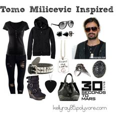 Tomo Milicevic Inspired, created by kellyray85.polyvore.com