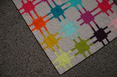 Modern Circuitry quilt tutorial by Don't Call Me Betsy, via Flickr
