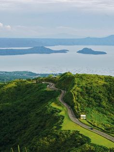 Amazing   	Tagaytay Philippines Overhead View  Photo 1   pic #Tagaytay #Philippines