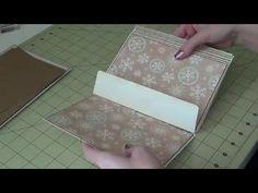 5x7 Envelope Mini Album - Part 3 - Assembly - YouTube
