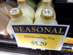 Hildebrand egg nog