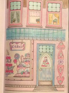 Colored By CC Book Nice Little Town Tatiana Bogema