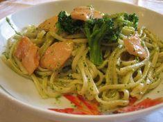 Pâtes au saumon et brocoli Weight Watchers, reccette d'un délicieux plat complet et léger qui peut être sur la table en seulement une demi-heure