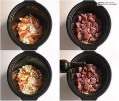 Cocina – Recetas y Consejos Slow Cooker Recipes, Crockpot Recipes, Spanish Dishes, Multicooker, Slow Food, Light Recipes, Copycat Recipes, Food And Drink, Dinner Recipes