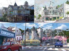 San Fransokyo architects built a new world for Disneys Big Hero 6