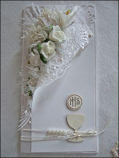 Would make a beautiful wedding card.