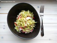 puerto rican coleslaw / puertoricanischer krautsalat