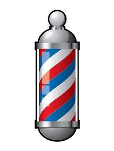 barber shop pole clip art vector clip art online royalty free rh pinterest com