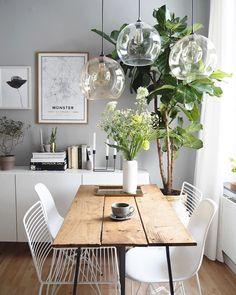 Dining Room Inspiration, Home Decor Inspiration, Living Room Decor, Living Spaces, Casual Living Rooms, Dining Room Design, Cheap Home Decor, Diy Home Decor, Apartment Living