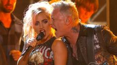 The heavy metal band said they were at dinner with the pop star when they asked her about performing with them at the 2017 Grammys.
