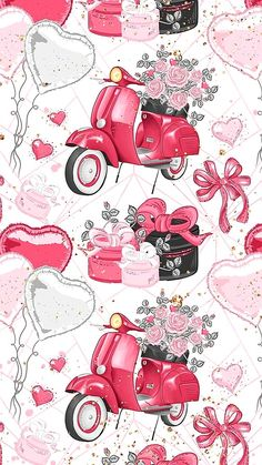 Laptop Wallpaper, Love Wallpaper, Pattern Wallpaper, Wallpaper Backgrounds, Decoupage Vintage, Decoupage Paper, Scrapbook Paper, Scrapbooking, Fashion Wall Art