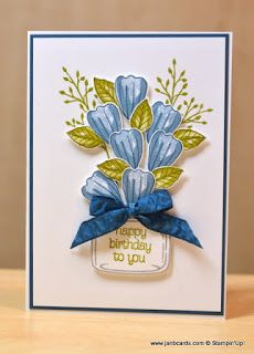 JanB Handmade Cards Atelier: More Bunch of Blossoms