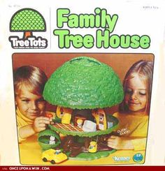 Family Tree House - I had this! mom bought one for us a couple of xmas ago.. and had it set up during xmas... love it