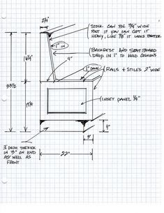 Banquette Drawing by toddclippinger, via Flickr