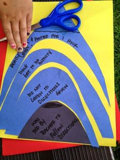 """Behavioral Interventions--For Kids!: Mountains out of molehills. Perfect for """"size of the problem"""" activity."""