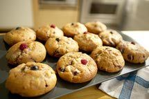 Cinnamon Cranberry Muffins