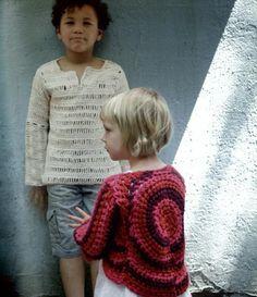 Picture of kid sweaters from Loop-D-Loop Crochet