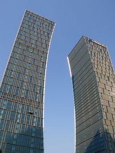 Riviera Twin Star Square Towers, Shanghai, China. 49 floors, height 215m