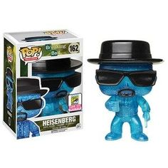 Special edition clear blue Walter white funko pop