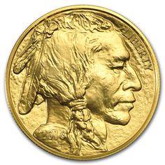 Moneda Buffalo 2016 Oro Reverse