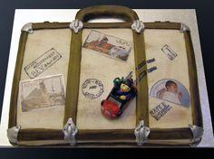Suitcase Cake, Travel Cake, Retirement, Cakes, Google, Image, Kuchen, Retirement Age, Torte