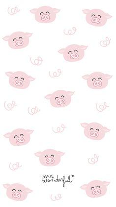 New wall paper unicrnio rosa 24 ideas Wallpaper Fofos, Pig Wallpaper, Flower Phone Wallpaper, Pink Wallpaper Iphone, Pastel Wallpaper, Cool Wallpaper, Mr Wonderful, Cute Wallpaper Backgrounds, Cute Wallpapers