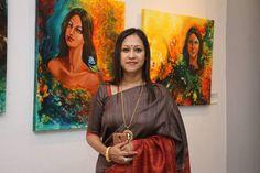 Showcasing art by Sanjeeta Ahmed