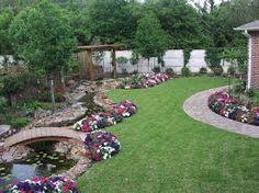 small backyard landscaping ideas on a budget : Backyard . Large Backyard Landscaping, Landscaping Tips, Backyard Ideas, Patio Ideas, Florida Landscaping, Backyard Stream, Backyard Designs, Backyard Pergola, Pergola Designs