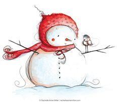 Winter Friends by Rachelle Anne Miller, via Flickr
