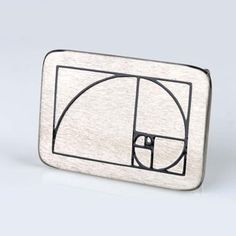 Golden Ratio Belt Buckle, $30, now featured on Fab.