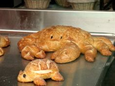 Sourdough Bread Animals - Boudin Bakery in San Francisco