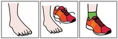 schoenen aantrekken; oorzaak - gevolg Series Causa Efecto 30 http://informaticaparaeducacionespecial.blogspot.com.es/2009/02/series-causa-efecto-ii.html