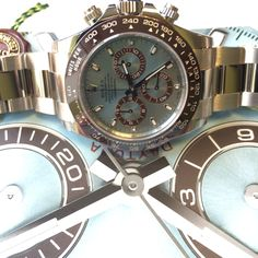 Does it get any better? The Platinum 50th Anniversary Rolex Daytona In Stock