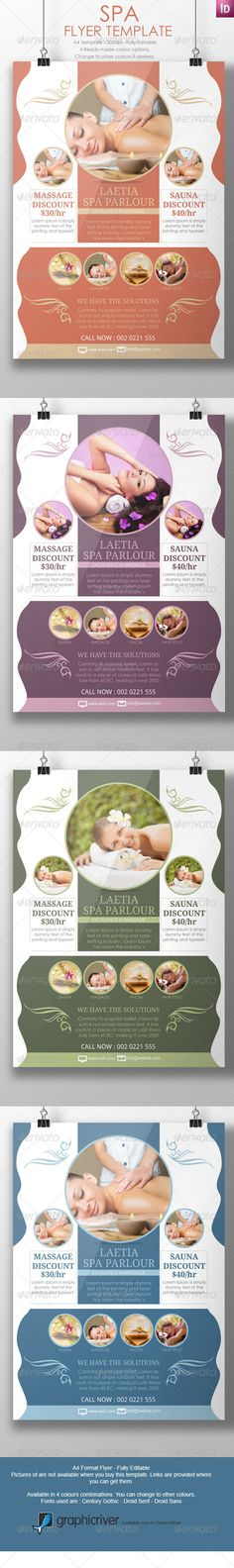 Spa Marketing Flyers