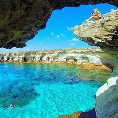 Ayia Napa, Cyprus  Who do  you just want to jump in with!   #travelintoliving Inspo thanks to our friend @beachzone