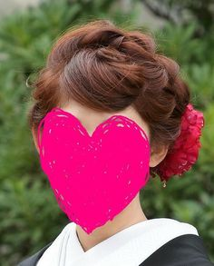 髪型 Formal Hairstyles, Wedding Hairstyles, Hair Arrange, Hair Images, How To Make Hair, Traditional Outfits, Hair Hacks, Hair Makeup, Kimono