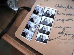 guest book for Photo BOoth style pics