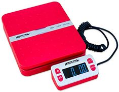 Whenever it comes to good and cost-effective product, you definitely need to take a glance  at the Accuteck ShipPro W-8580 110lbs x 0.1 oz Red Digital shipping postal scale, Limited Edition . Plenty of customers have said many good things about Accuteck ShipPro W-8580 110lbs x 0.1 oz Red...