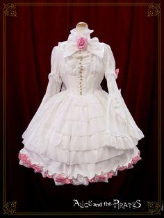 Alice and the Pirates Milk tea dress set