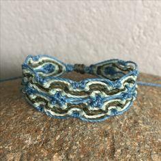 Charm Bracelet - blue retro dots by VIDA VIDA Luan3uYBB