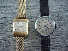 deux montres lip mécaniques en acier et plaquée or | eBay