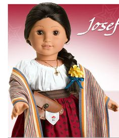 One of the dolls were going to pass down to London. Rachel has this doll. Part of the American girl collection.