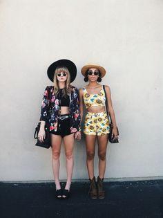 Crop tops + hats + sunnies | VSCO Grid | Kaehope